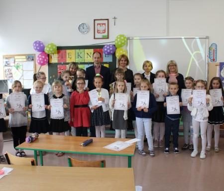 Szkolny konkurs kaligraficzny w Potęgowie