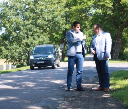 Robocza wizyta wicestarosty powiatu słupskiego