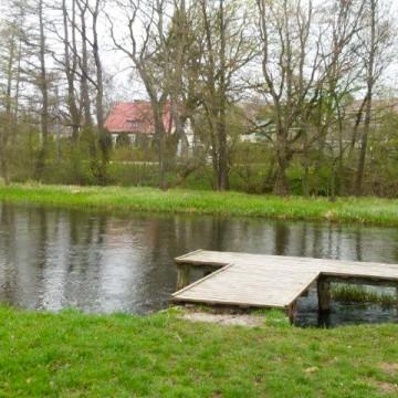 Dofinansowanie na zagospodarowanie terenu przy rzece Łupawa