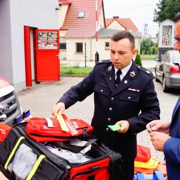 Strażacy ochotnicy otrzymali nowy sprzęt