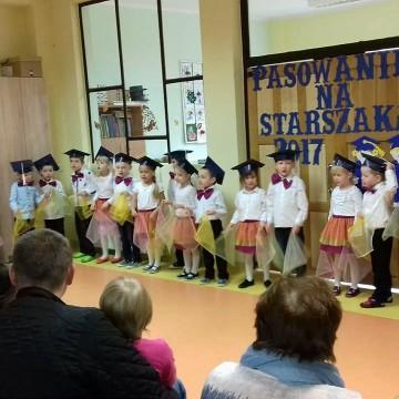 Pasowanie na Starszaka w Przedszkolu w Łupawie