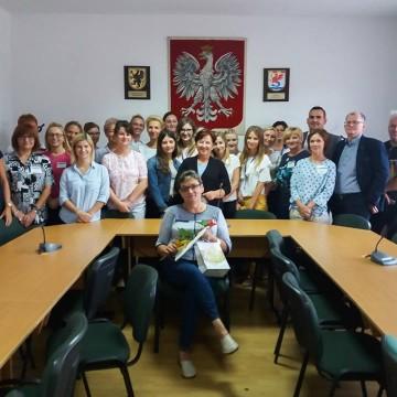 27 lat pracy w UG Potęgowo - pożegnanie pani Jadwigi Parszewskiej
