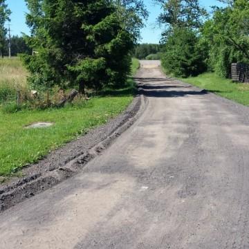 droga gmina z kruszywa drogowego w Malczkówku