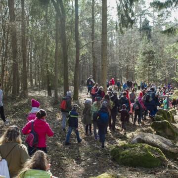Rajd pieszy Szlakiem Łupawskich Megalitów