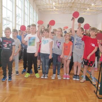 II Turniej XIII Międzyszkolnej Ligi Tenisa Stołowego w Łupawie