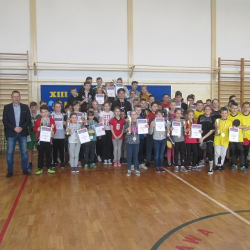 Wyniki końcowe XIII edycji Międzyszkolnej Ligi Tenisa Stołowego
