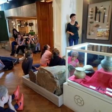 Kluby Młodego Archeologa w lęborskim muzeum
