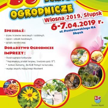 "Targi Ogrodnicze – ""Wiosna 2019"" – Słupsk"