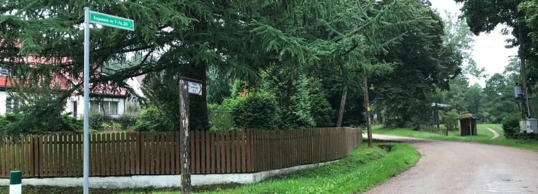 Oznakowanie numerów posesji w Łupawie