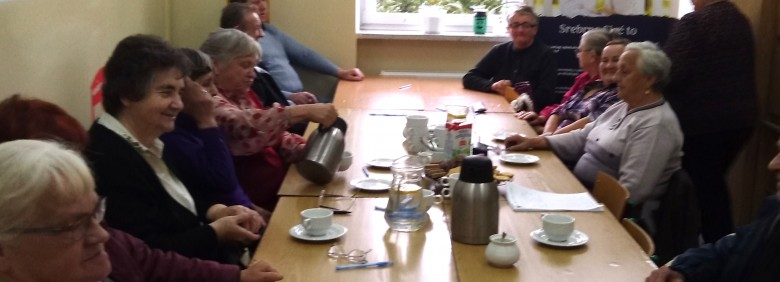 Spotkania seniorów w ramach Srebrnej Sieci